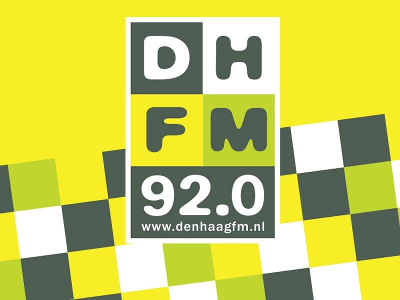 Logo Den Haag FM - 92.0 www.denhaagfm.nl