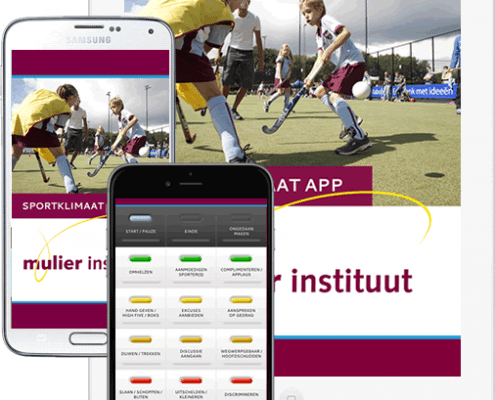 SportKlimaat app