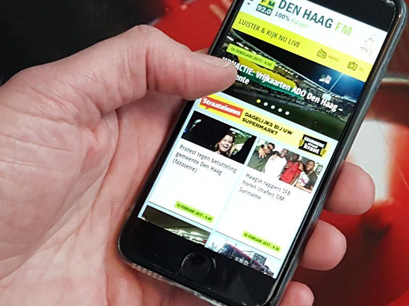 Den Haag FM app